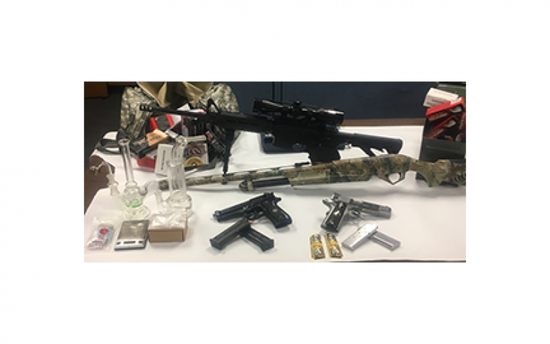 Napa announces two incidents of drug/gun confiscation
