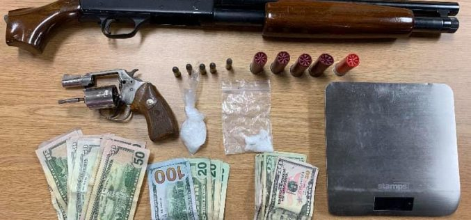 Salinas Police: Search warrant turns up guns, drugs, stolen trailer