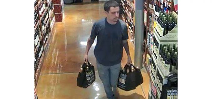 Man steals 14 bottles of champagne worth $1,200