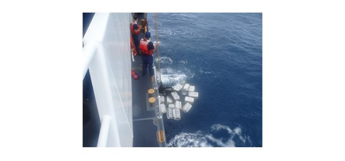 Coast Guard Sweep Brings Approximately $38.5 Million of Cocaine to Port of LA
