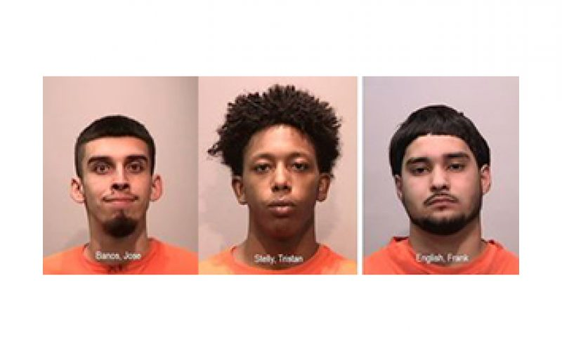 Trio nabbed at residential burglary in progress