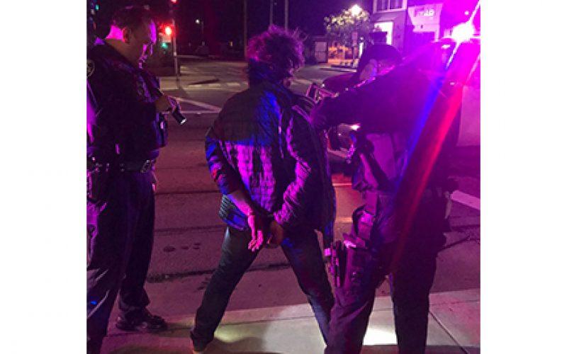 Attempted burglary at 2:38 a.m. in Santa Cruz