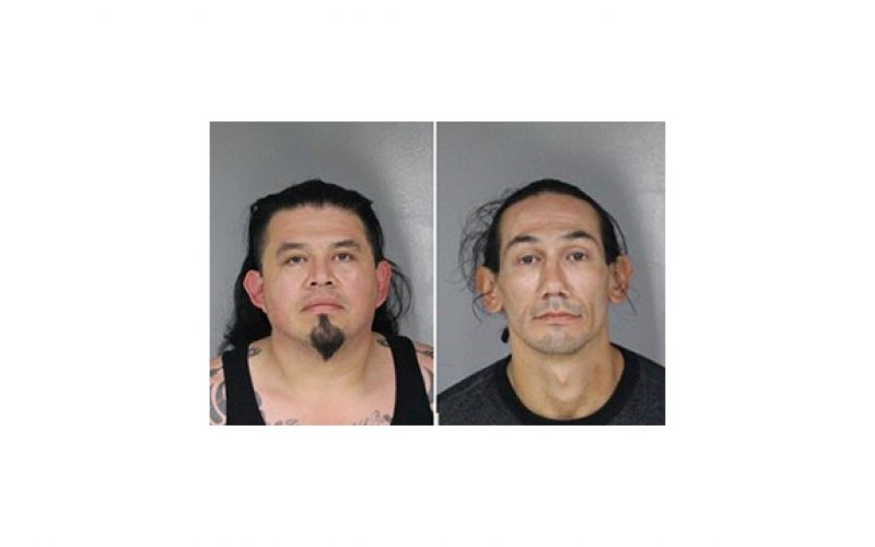 Pair arrested with meth, heroin and silenced handgun