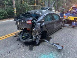 DUI collision