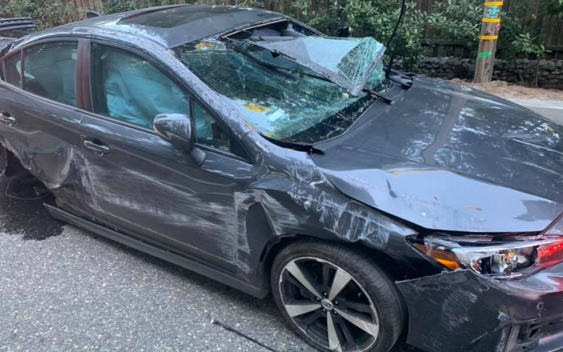 Man arrested after DUI collision at Park Woods