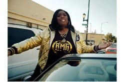 Kamaiyah fires gun during private movie screening
