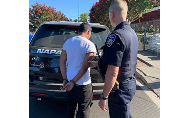 Thieving juvenile evades police the first two times