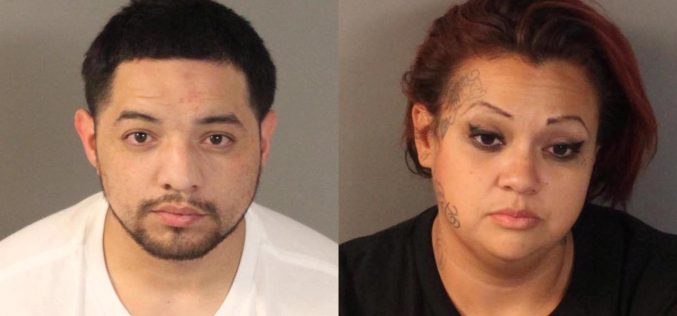 Pair found sleeping in car busted on suspicion of identity theft
