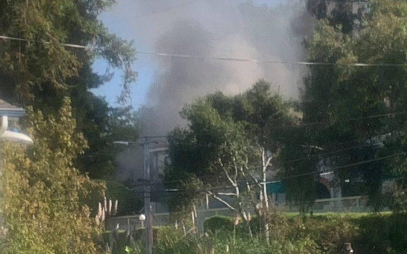 Domestic violence call leads to arson investigation in Santa Cruz
