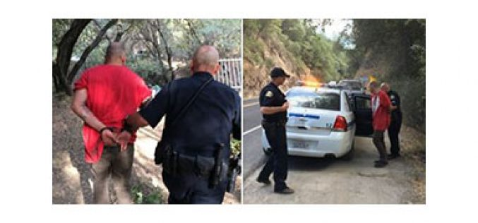 Sonora Police Department finally apprehends suspect with warrants