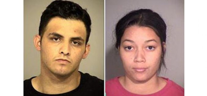 Thief and Girlfriend Arrested at her home