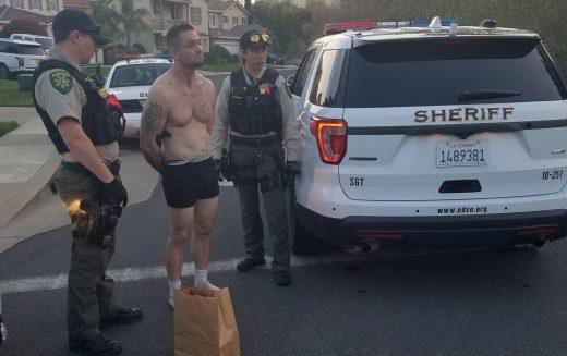 Bra- and panty-clad prowler arrested in El Dorado Hills