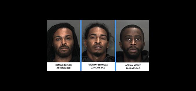 Victim and Witness Assist Barstow PD To Nab Three Serial Auto-Break-In Burglars