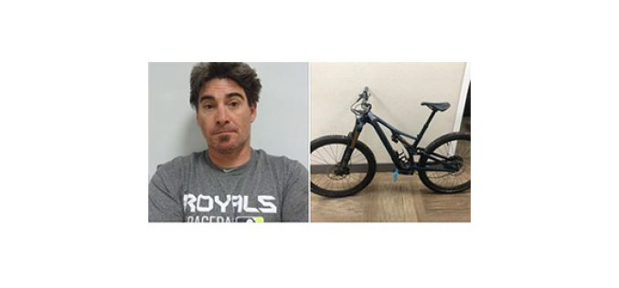 Mountain bike, stolen in May, recovered off of eBay