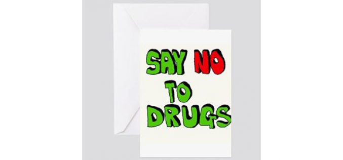 Just Say No to Drug-Laced Greeting Cards