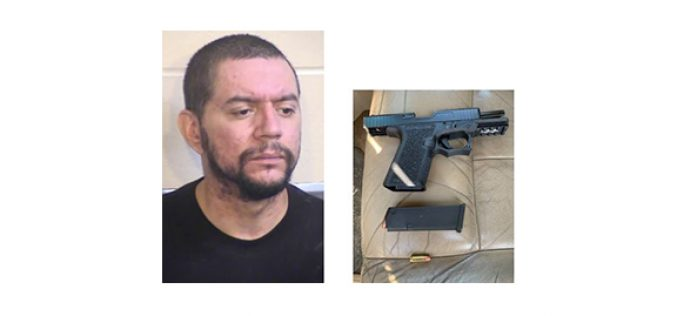 Man Arrested On His Birthday for DUI and Illegal Firearm Possession