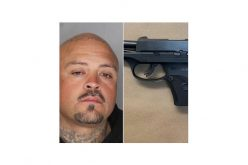 Family disturbance leads to arrest for possession of firearm