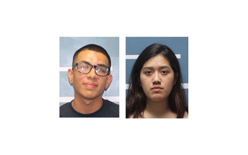Man and Woman Arrested with 2 Pounds of Weed