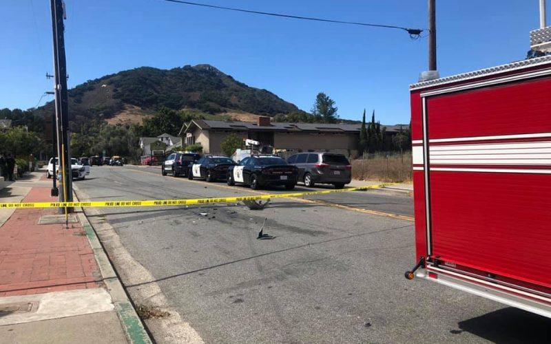 Man faces multiple felonies after pursuit in San Luis Obispo