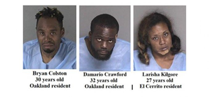 3 Suspects in Custody 17 Minutes after Credit Union Robbery