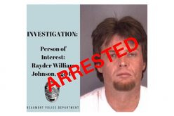 Rayder Johnson nabbed after four months on the loose