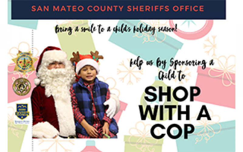 San Mateo Sheriff's Office sponsors 'Shop with a Cop'