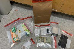 Man convicted of drug activity arrested on suspicion of drug activity