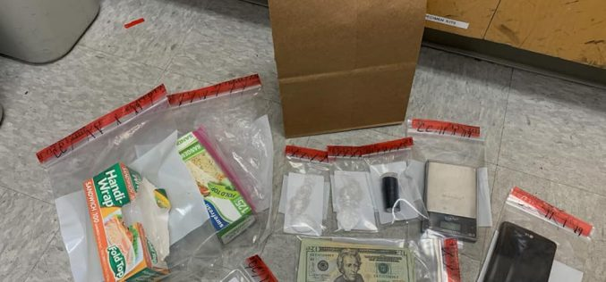 Man convicted of drug activity arrested on suspicion of drug activity