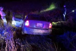 High-speed pursuit ends when driver crashes in marsh