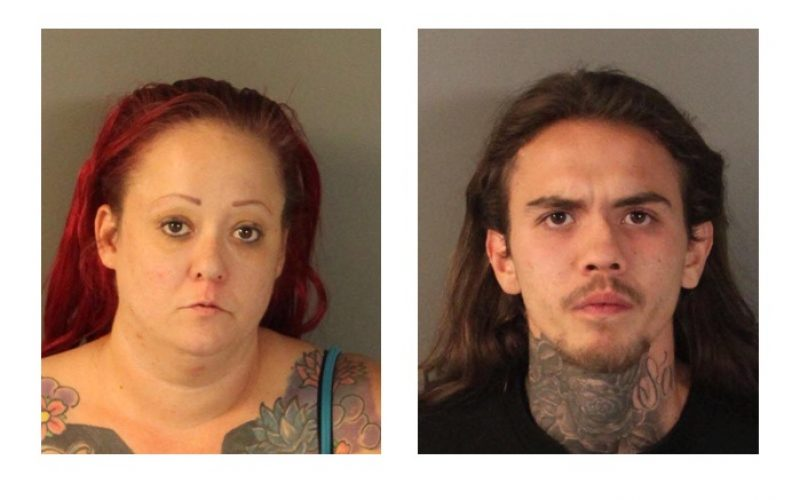 Pair caught living at vacant property face felony child endangerment, identity theft charges