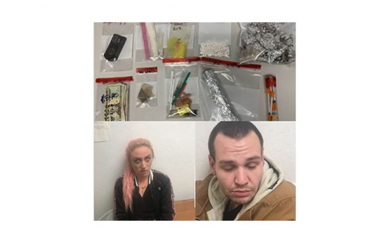 Police seize cocaine, crack, heroin, paraphernalia and such