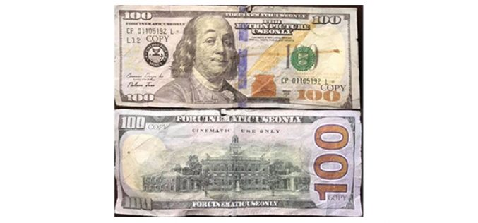Man tries to pass fake $100 bill