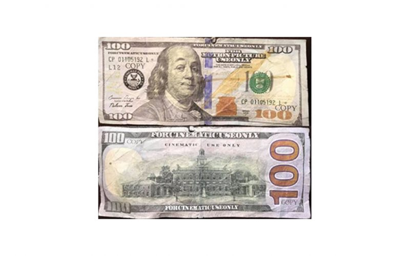 Man tries to pass fake $100 bill
