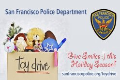 San Francisco PD announces Holiday Toy Drive