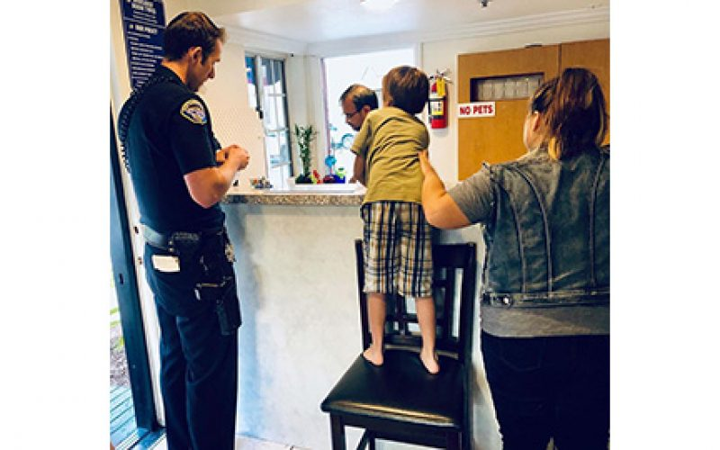 Huntington Beach PD helps out family in need