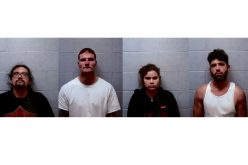 Four arrested on burglary, grand theft charges in Douglas City