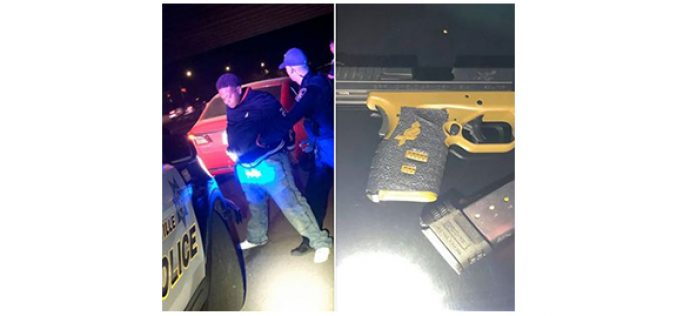 Another gun off the streets!