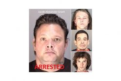 Four fugitives arrested in Napa County