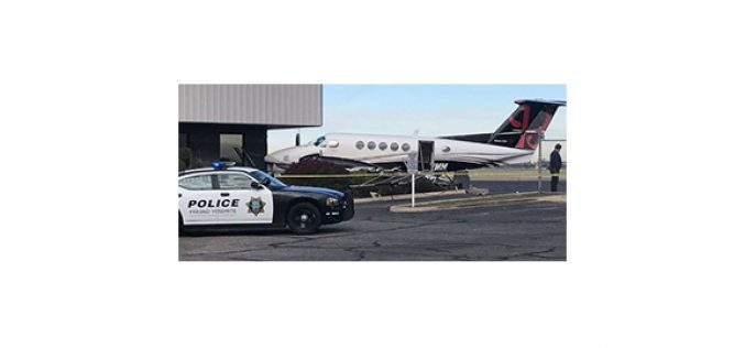 Female Juvenile Arrested For Stealing and Crashing Private Plane