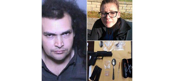 Caller Reports Suspicious Scene, Leading to Arrest of Convicted Felon