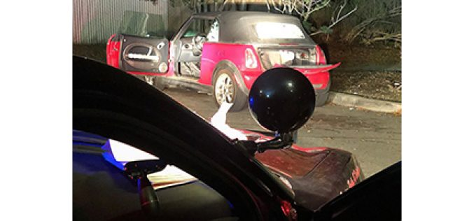 Man caught inside stolen car with meth, paraphernalia