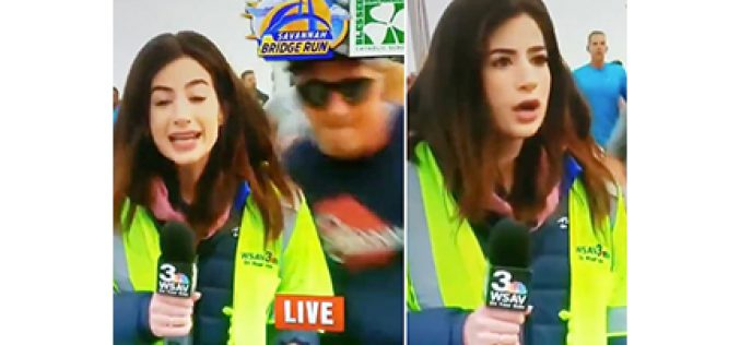 TV Reporter Pursuing 'Sexual Battery' Case … Against Butt-Slapping Runner