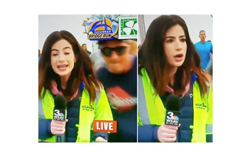 TV Reporter Pursuing 'Sexual Battery' Case … Against Butt-Slapping Runner