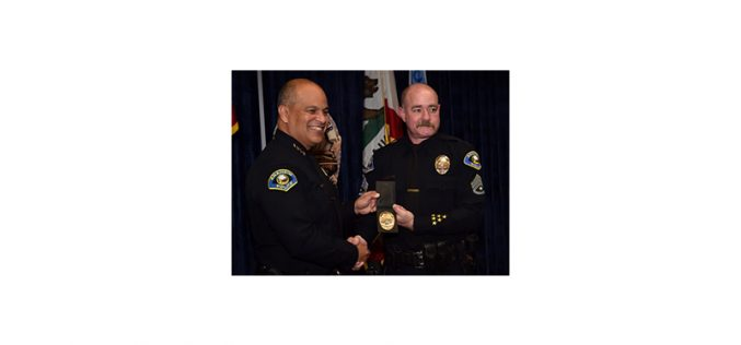 Sgt. Daron Wyatt bids emotional farewell after 33 years in policing