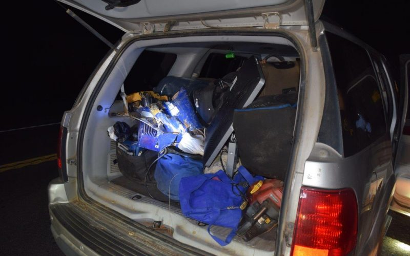 Two arrested in commercial burglary investigation in Burson