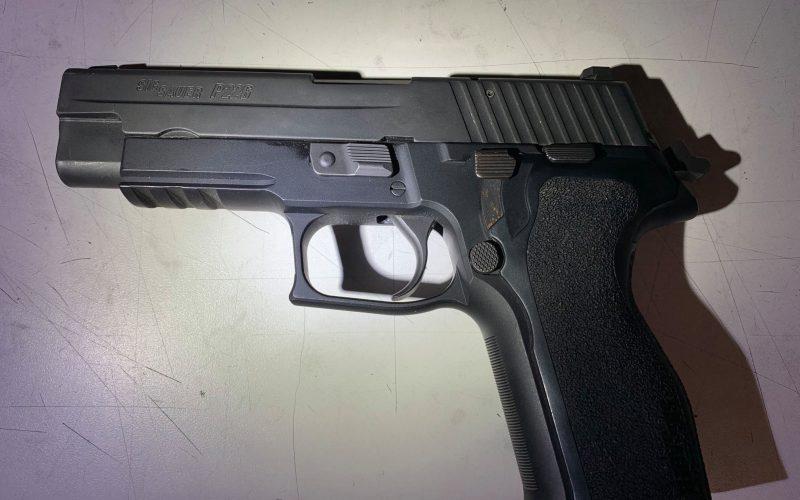 Jamestown man caught with loaded firearm on school grounds