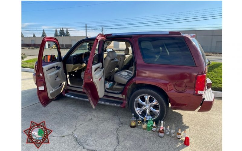 Rancho Cordova PD arrests 18-year-old DUI suspect