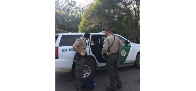 Marin County Sheriff issues press release on Woodacre burglary spree arrest