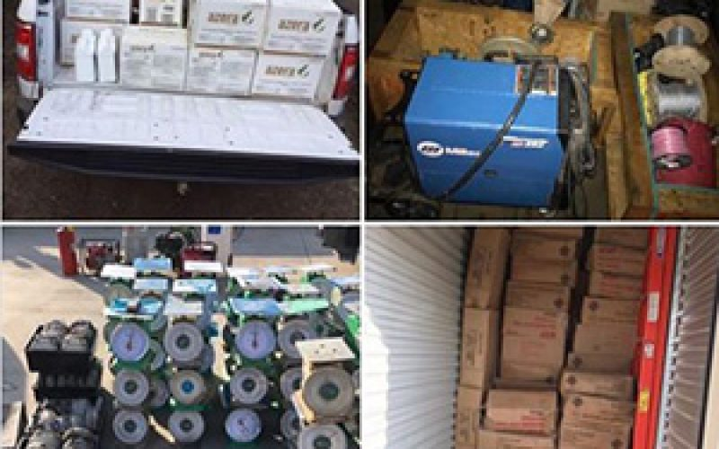 $80,000 in Stolen Property Recovered, Four Arrested