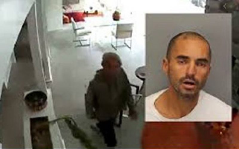 Home Surveillance System Helps Palm Springs Home Owner Catch Burglar Red-Handed